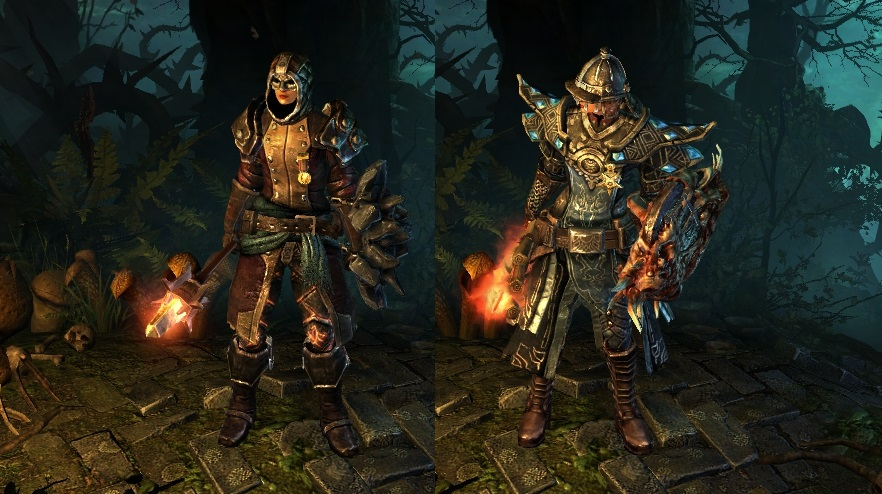 Flame and Shield Tactician - Classes, Skills and Builds